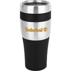 Stanton - 16 Oz Travel Tumbler. Double Wall Construction And Plastic Liner