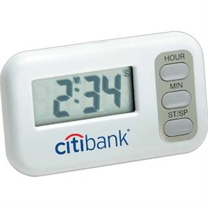 Large Display Digital Timer And Clock. Counts Down From 19 Hours 59 Minutes