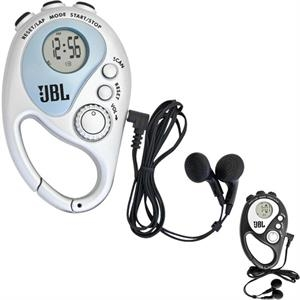 Rhythm - Fm Scan Radio, Stop Watch, Alarm Clock, Adjustable Carrying Neck Cord