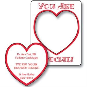 "Magnet - Picture Frame Heart Punch (3.5"" X 4.5"") - 30 Mil"