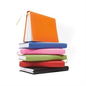 Colorplay - Soft Leather Non-refillable Journal With 100 White Lined Sheets
