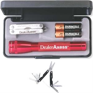 AA Mini Mag-Lite with Leatherman Micra (R) Tool