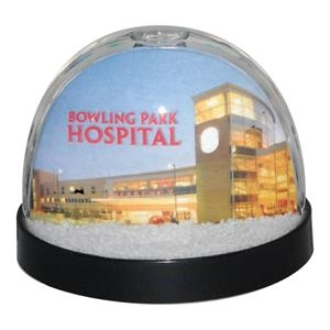 2 Working Days - Full Color Snow Globe