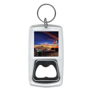 2 Working Days - Full Color Bottle Opener Key Ring