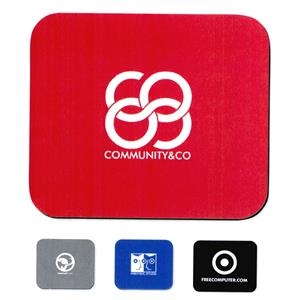 Red - Soft Surface Mouse Pad With Express Turnaround