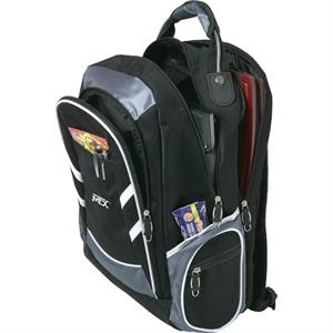 "Wired (tm) - Computer Backpack With 15"" Laptop Pocket"