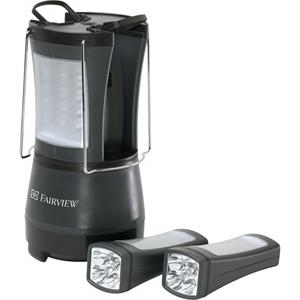 Tool Zone (tm) Duo (r) - The Ultimate Camping Lantern With A Four Panel 360 Deg