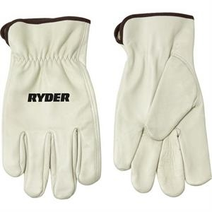 Gray Cow Grain Driver Glove