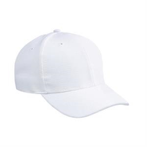 Stretchable Wool Blend Solid And Two Tone Color Low Profile Pro Style Cap. Blank