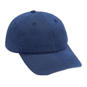 Six Panel, Solid Color Garment Washed Cotton Twill Pro Style Low Fitting Cap. Blank