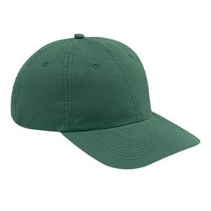 Low Fitting, Solid Color, Unstructured Six Panel Polyester Microfiber Cap. Blank
