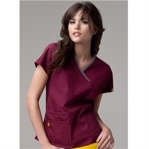 Wink Origins - Lady Fit Y-neck Mock Wrap