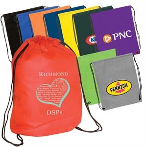 Econo - Hand Washable And Recyclable Non-woven String Backpack