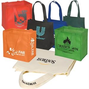 Eco-responsible (tm) Econo Enviro-shopper - Non Woven Reusable 80 Gsm Tote Bag, An Eco-responsible (tm) Product