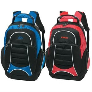 Wired (tm) - Backpack Spacious Main Zippered Compartment