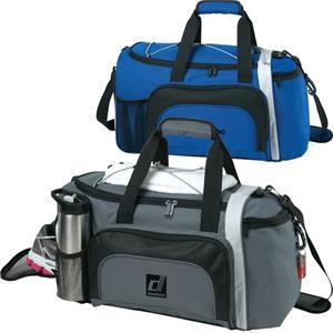 "18"" Locker Duffel Bag With Shoe Compartment"
