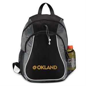 Two Full Zipper Compartments Sports Backpack