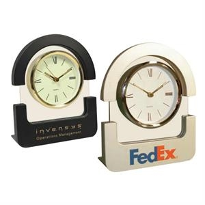 Unique Design Arch Top Desk Top Clock. Simply A Class Of Its Own!