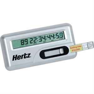 Target Day Countdown Multi-function Digital Clock. Pull Out Tab For Personal Message