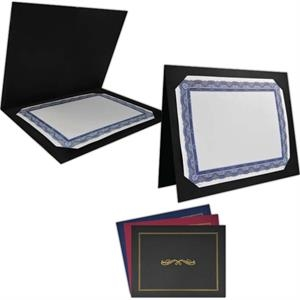 "Heavy-weighted Texture Paper Presentation Jacket, Holds 11""x8 1/2"" Or 10""x8"""