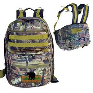 Mossy Oak (R) camo ultimate outdoor backpack