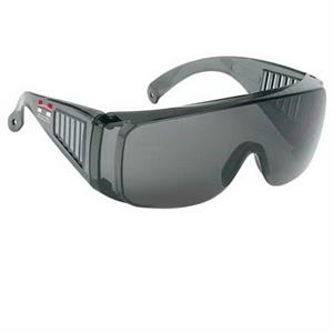Provizgard - Gray Lens And Frame - Large Frame Single-piece Lens Safety Glasses