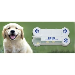 Dog Bone Pill Box