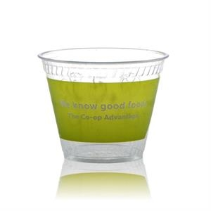9 oz Clear Greenware Rocks Cup