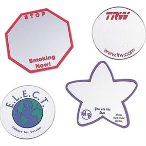 Heart - Shaped Acrylic Mirror Button/magnet