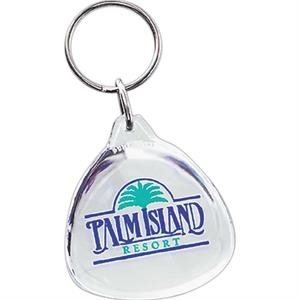 Teardrop - Acrylic Key Tag For Every Promotional Need