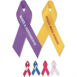 Awareness Ribbon With Tape Attachment
