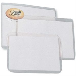 "Blank Laser Printer Inserts For Badge Holders, 8 1/2"" X 11"""