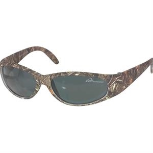 Mostly Oak - Camo Sunglasses With Gray Lens And 400 Uv Protection