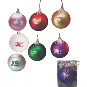 Shatterproof Holiday Ornament