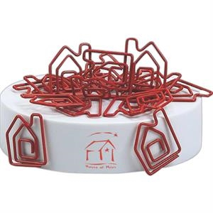 Clipsters - House Clipsters - Clips With Magnetic White Base