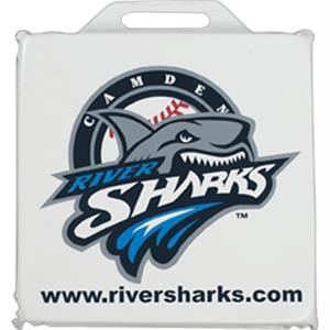 "Stadium Cushion Made Of Durable Phthalate-safe 12mil Vinyl, 14"" Square By 1"" Thick"