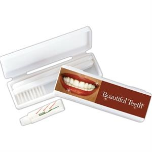 Road - 3 Day - Toothbrush Kit Include Toothpaste Come With Medium Bristles