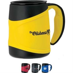 Microwavable Mug With Insulated Double Wall Construction