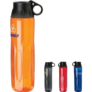 Tritan Eco-lifestyle (tm) - 24 Oz Water Bottle With Twist Off Lid And Carry Loop