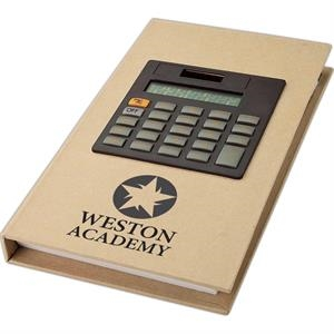 Eco-lifestyle (tm) - Recycled Notebook And Calculator