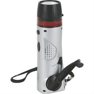 Eco-lifestyle - Mini Survival Flashlight/radio