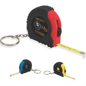Miniature Tape Measure Keyring