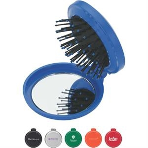 Compact Foldable Mirror/brush