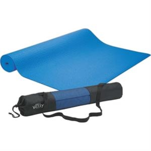 Non-toxic Pvc Yoga Mat With Nylon And Mesh Carry Bag