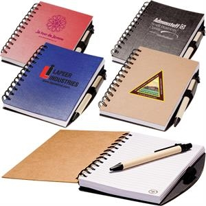 Eco-responsible (tm) Eco - Easy Jotter Combo With Elastic Pen Loop