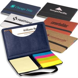 Eco-responsible (tm) Sticky Book (tm) - Business Card Sticky Note Pack