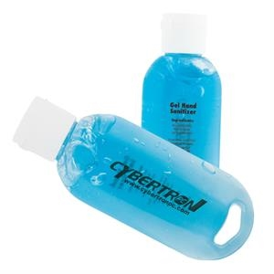 1.9 Oz. Unscented Antibacterial Gel Sanitizer With Blue Tint
