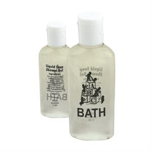 Antibacterial Hand Soap And Shower Gel With Flip Cap,