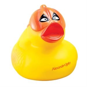 Pumpkin Mask Rubber Duck