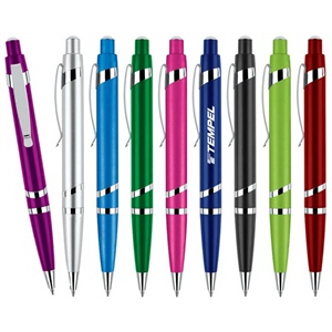 Hi-shine - Shiny Jewel-tone Silver Accent Pen